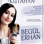 Begül Erhan Anadolu'ya Gitar Resitalleri Kütahya'da (Haber)