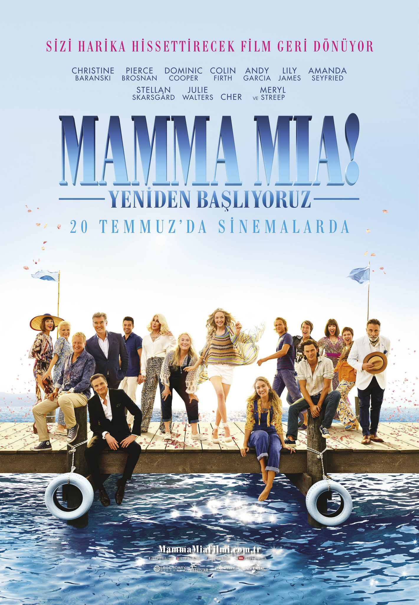 Mamma Mia Yeniden Başlıyoruz 20 Temmuz'da Sinemalarda