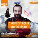 Göktuğ Şahin Musikisi Lansman Konseri'ne Davetiye Kazananlar! (Hediye)