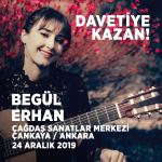 Begül Erhan Klasik Gitar Resitali'ne Davetiye Kazan! (Ankara) (Hediye)