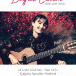 Begül Erhan Klasik Gitar Resitali'ne Davetiye Kazananlar! (Ankara) (Hediye)