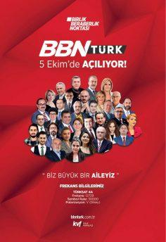 BBN Türk (Yayında) – 5 – 11 Ekim 2020 – Haftalık Yayın Akışı (İlk Gün – İlk Hafta)