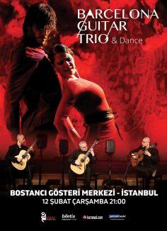 """""""Barcelona Guitar Trio & Dance"""" Yeni Yeni Şeyler medya sponsorluğunda Türkiye'de!"""