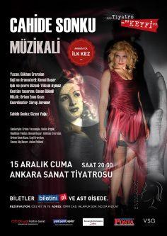 """""""Cahide Sonku Müzikali"""" Ankara'da! (Haber)"""