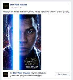 Facebook – Star Wars Özel Profil Resmi