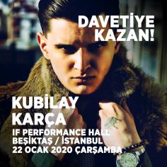 Kubilay Karça İstanbul Konseri'ne Davetiye Kazan! (Hediye)
