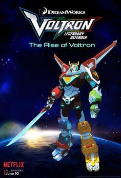 NETFLIX – Voltron Legendary Defender (Official Trailer ve Afiş) (yepyeni!)