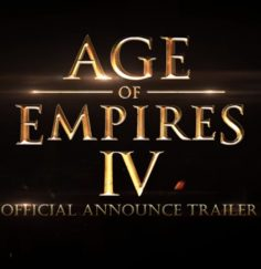Age of Empires IV (Official Announce Trailer) (yepyeni!)