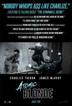 "Atomic Blonde (""Chapter 1: Father Figure"" Klibi ve Afiş) (yepyeni!)"