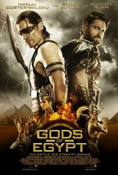 Gods of Egypt (Official TV Spot ve Afişler)